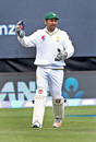 Sarfraz Ahmed took three catches in the second innings, New Zealand v Pakistan, 2nd Test, Hamilton, 4th day, November 28, 2016