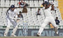 Jayant Yadav backs away, then slaps one, India v England, 3rd Test, Mohali, 3rd day, November 28, 2016