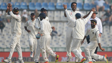 Jayant Yadav removed Jos Buttler in his first over of the morning