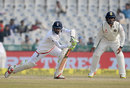 Haseeb Hameed plays well forward, India v England, 3rd Test, Mohali, 4th day, November 29, 2016