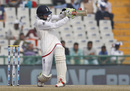 Haseeb Hameed hooks Mohammed Shami for four, India v England, 3rd Test, Mohali, 4th day, November 29, 2016