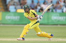 Ellyse Perry hits one into the leg side, Australia v South Africa, 5th women's ODI, Coffs Harbour, November 29, 2016