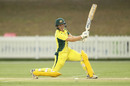 Elyse Villani drives through the covers, Australia v South Africa, 5th women's ODI, Coffs Harbour, November 29, 2016