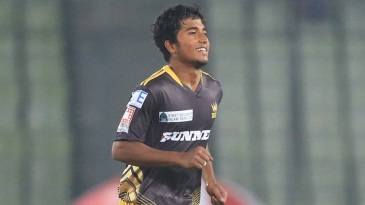 17-year old Afif Hossain finished with 5 for 21 on his T20 debut