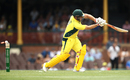 Aaron Finch played on first ball, Australia v New Zealand, 1st ODI, Sydney, December 4, 2016