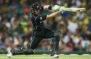 Martin Guptill lays into a sublime cover drive, Australia v New Zealand, 1st ODI, Sydney, December 4, 2016