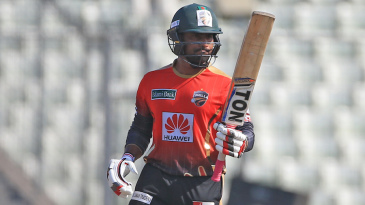 Imrul Kayes scored a fifty off 30 balls