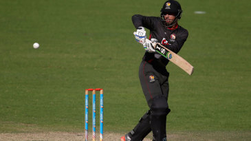 Rohan Mustafa gave UAE a solid start at the top of the order