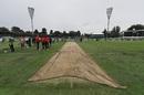 A light shower delayed the toss by 30 minutes, Australia v New Zealand, 2nd ODI, Canberra, December 6, 2016