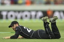 Kane Williamson had a tough day on the field, Australia v New Zealand, 2nd ODI, Canberra, December 6, 2016