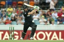 Martin Guptill batted aggresively to score a 33-ball 45, Australia v New Zealand, 2nd ODI, Canberra, December 6, 2016