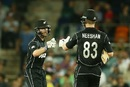 Kane Williamson and James Neesham added 125 runs for the third wicket, Australia v New Zealand, 2nd ODI, Canberra, December 6, 2016
