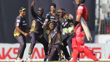 Rajshahi Kings revel in their popular 'selfie' celebration