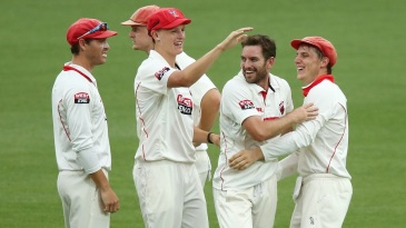 Chadd Sayers' five-wicket haul razed New South Wales