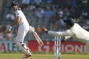 Alastair Cook edges through the slips, India v England, 4th Test, Mumbai, 1st day, December 8, 2016
