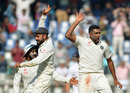 R Ashwin struck twice in his comeback over, India v England, 4th Test, Mumbai, 1st day, December 8, 2016