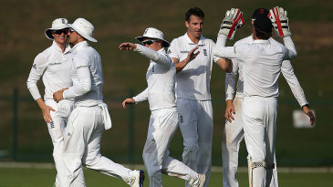 Toby Roland-Jones claimed five wickets for England Lions