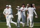 Toby Roland-Jones claimed five wickets for England Lions on the second day of the tour match against Afghanistan, Zayed Cricket Stadium, Abu Dhabi, December 8, 2016