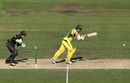 Matthew Wade clips one to the leg side, Australia v New Zealand, 3rd ODI, Melbourne, December 9, 2016