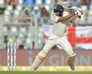 Cheteshwar Pujara helped form a solid second-wicket stand, India v England, 4th Test, Mumbai, 2nd day, December 9, 2016