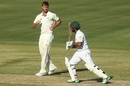 Mark Steketee removed Sami Aslam early, Cricket Australia XI v Pakistanis, Cairns, 2nd day, December 9, 2016