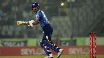 Kumar Sangakkara scored a 33-ball 36