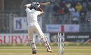 Cheteshwar Pujara shouldered arms to a ball that was heading for the off stump, India v England, 4th Test, Mumbai, 3rd day, December 10, 2016