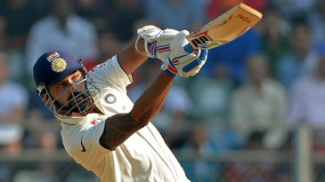 M Vijay continued to dominate England's spinners