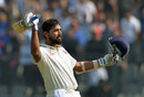 M Vijay went to his eighth Test century, India v England, 4th Test, Mumbai, 3rd day, December 10, 2016