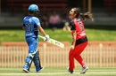 Molly Strano finished with figures of 3 for 16, Adelaide Strikers v Melbourne Renegades, Women's Big Bash League, Sydney, December 10, 2016