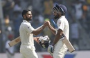 Virat Kohli and M Vijay added 116 together, India v England, 4th Test, Mumbai, 3rd day, December 10, 2016