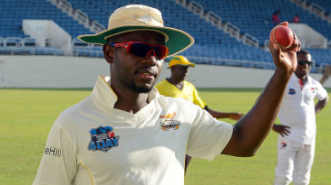 Nikita Miller claimed nine wickets in the innings, helping Jamaica to a big win
