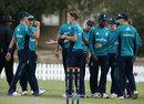Will Jacks celebrates a wicket, UAE XI v England Young Lions, Dubai, December 11, 2016