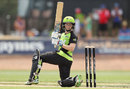 Alex Blackwell scored an unbeaten 21 to take her side home, Sydney Thunder v Melbourne Stars, Women's Big Bash League, Albury, December 13, 2016