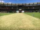 The Gabba pitch on the eve of the first Test between Australia and Pakistan, Brisbane, December 14, 2016