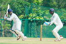 Sandeep Pattnaik tucks the ball behind square, Jharkhand v Odisha, Ranji Trophy 2016-17, Group B, Thumba, 1st day, December 15, 2016