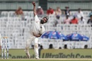 Amit Mishra gives the ball a rip, India v England, 5th Test, Chennai, 1st day, December 16, 2016