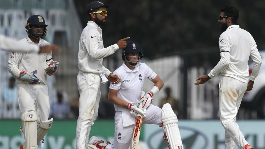 A successful review from India resulted in Joe Root's dismissal
