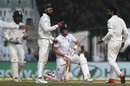A successful review from India resulted in Joe Root's dismissal, India v England, 5th Test, Chennai, 1st day, December 16, 2016