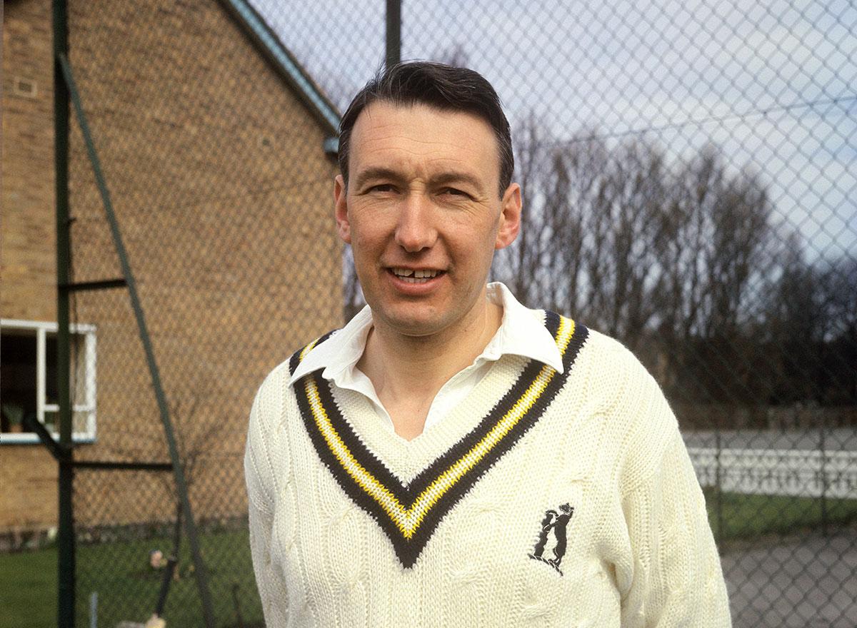Tom Cartwright at Edgbaston