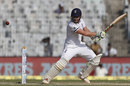 Jonny Bairstow cuts behind square, India v England, 5th Test, Chennai, 1st day, December 16, 2016