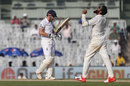 Ravindra Jadeja removed Jonny Bairstow for 49, India v England, 5th Test, Chennai, 1st day, December 16, 2016