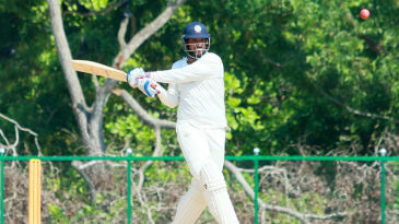 Saurabh Tiwary made 64 before retiring hurt