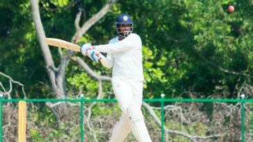 Saurabh Tiwary made 64 before retiring hurt