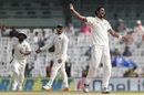 Ishant Sharma lets out a roar after having Jos Buttler lbw, 5th Test, Chennai, 2nd day, December 17, 2016
