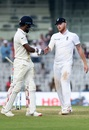 Ben Stokes came up to KL Rahul to offer a handshake after he was dismissed, India v England, 5th Test, Chennai, 3rd day, December 18, 2016