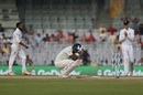 KL Rahul sinks to his knees after missing a double-century, India v England, 5th Test, Chennai, 3rd day, December 18, 2016