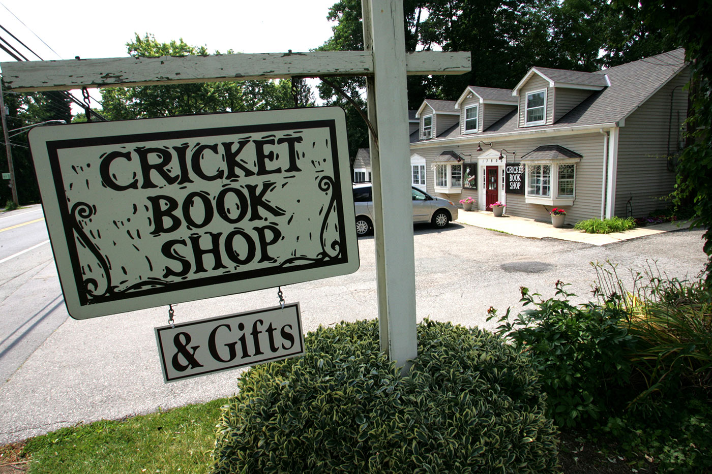 Bricks and mortar and everything that's nice: the smaller cricket publishers aren't too fussed about the electronic format