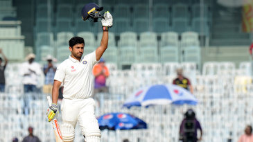 Karun Nair converted his maiden hundred into a triple ton