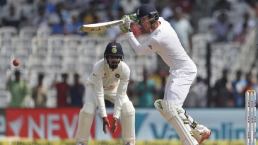 Keaton Jennings scored 54 in his fourth Test innings